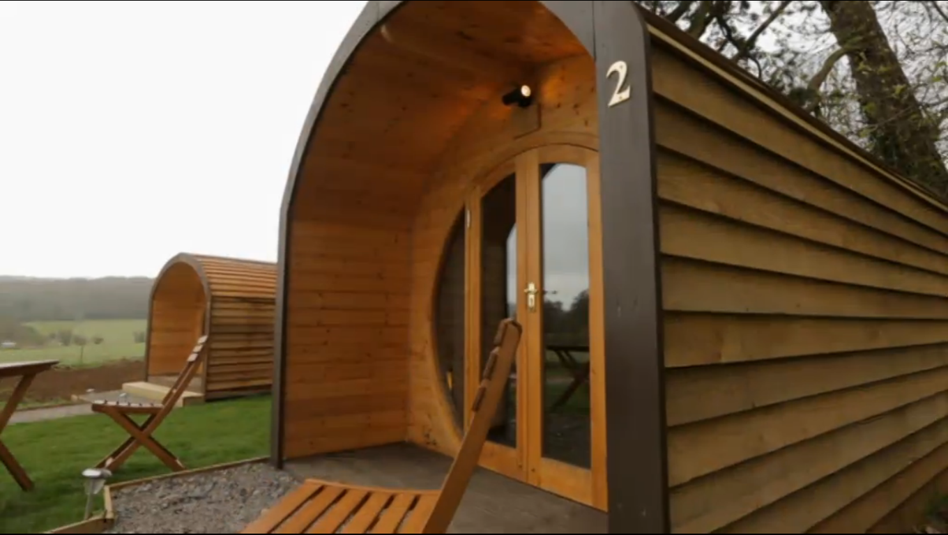 Accessible glamping pods as seen on george clarke 39 s amazing spaces glossy glamping - Small spaces george clarke pict ...