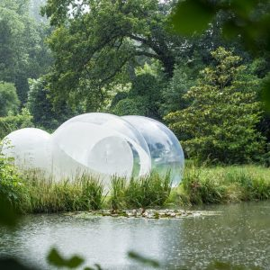 Your holidays taken to the next level: go glamping in a bubble!