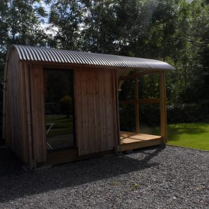 GLAMPING REVIEW: Morphpod at Disserth, Mid Wales