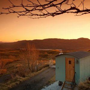 Skye Shepherd Huts, Isle of Skye, Scotland.