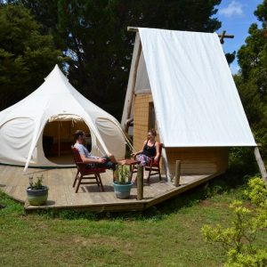 Birdsnest Glamping, New Zealand